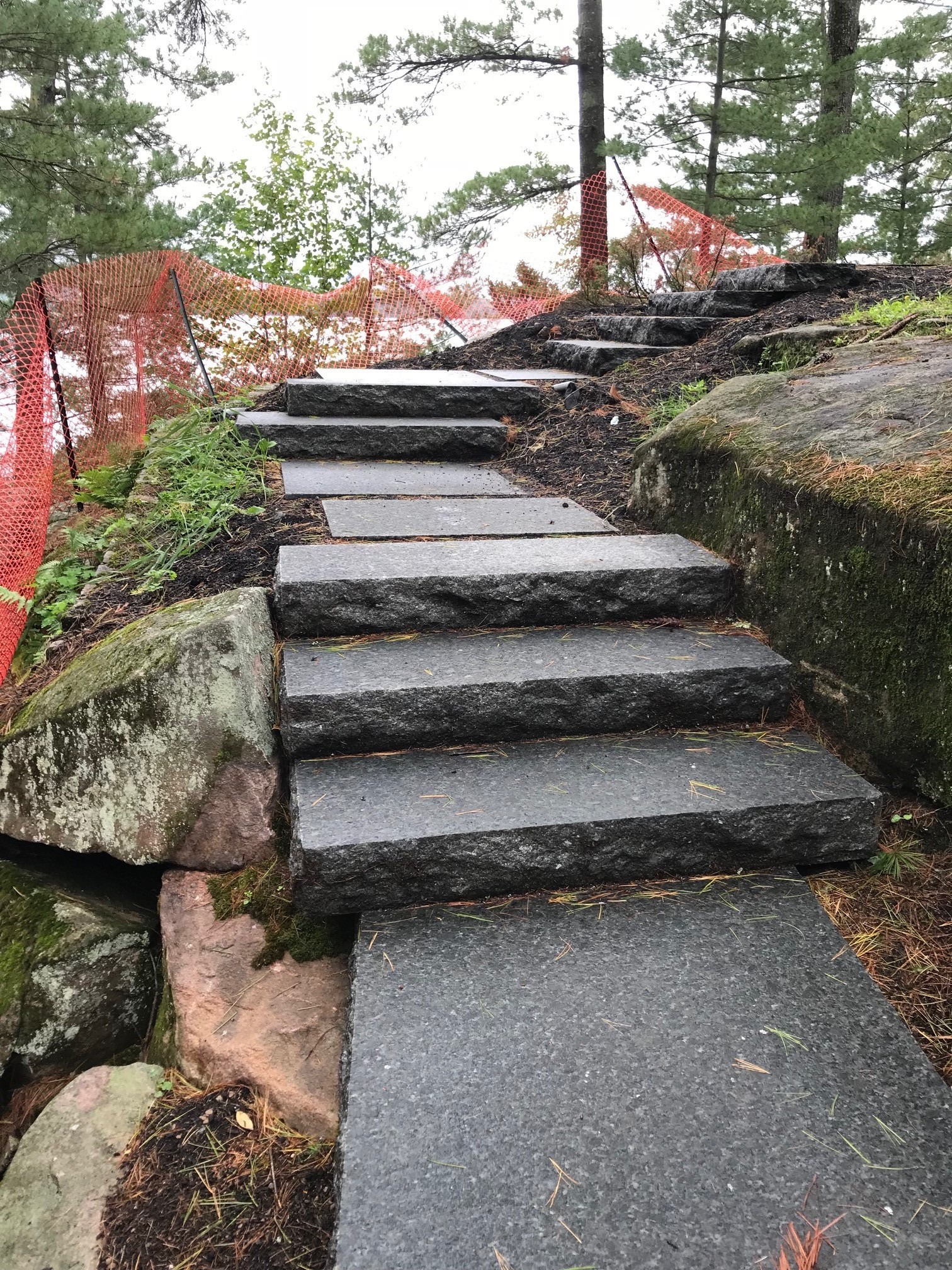 Steps and Flagstone